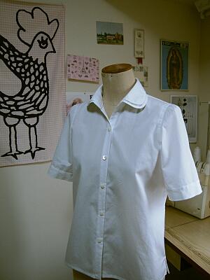2枚衿白シャツ1