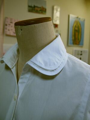 2枚衿白シャツ2