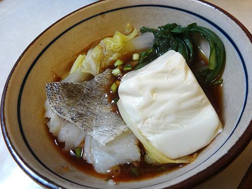 09タラ豆腐白菜春菊