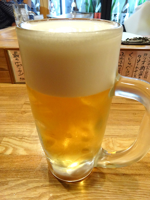 22生ビール350