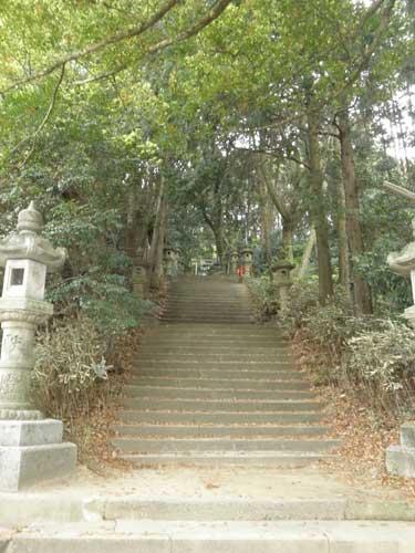 山中八幡階段