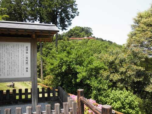 霞神社遠景
