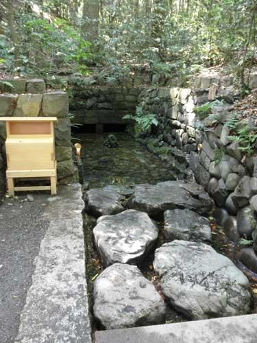 清水社の泉