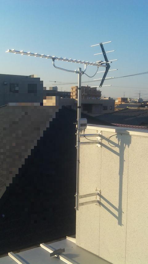戸田市でアンテナ工事