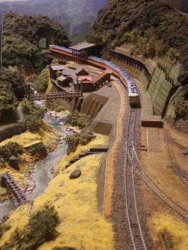 鉄道模型 レイアウト ローカル線