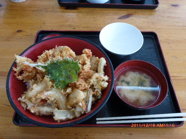 海鮮五目天丼