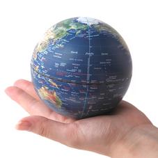 ミニサイズの地球儀