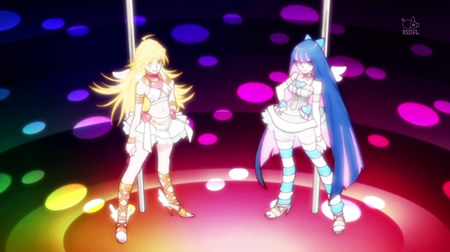 Panty&Stocking with Garterbelt 第1話 変身シーン