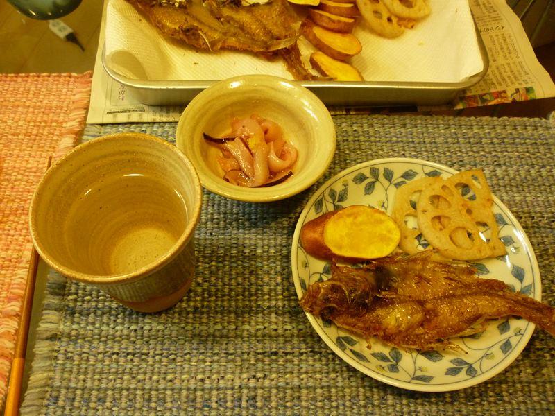 昨夜の晩御飯