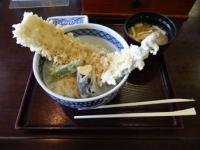 12/22 穴子天丼  女性センターレストラン