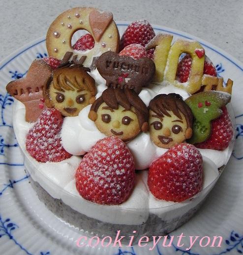 10周年ケーキ