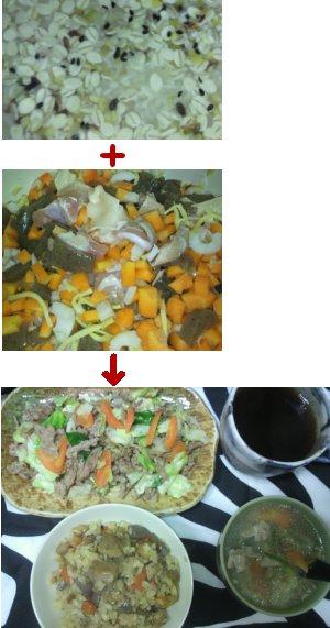 雑穀米と炊き込みご飯