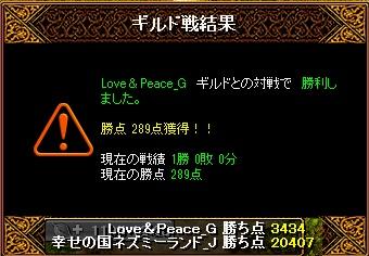 14.9.28Love&Peace様 結果