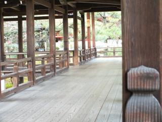 大覚寺・通路