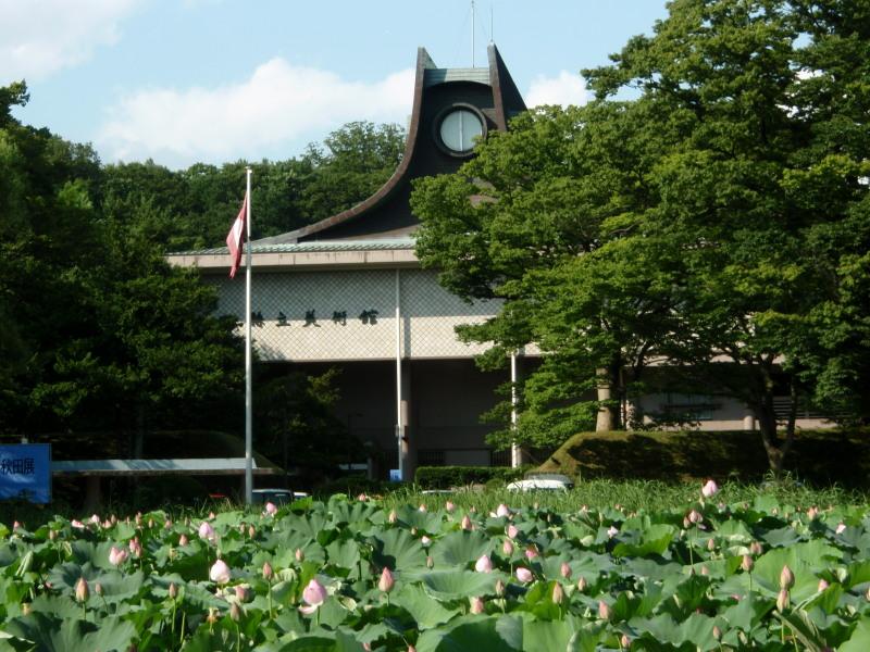 P1010441○蓮の花と千秋公園800x600.jpg