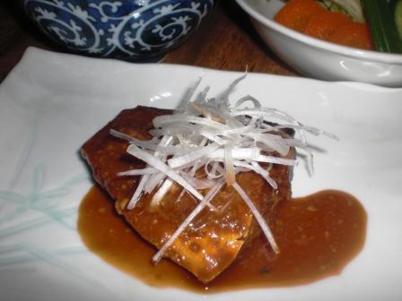 鯖の味噌煮(B)