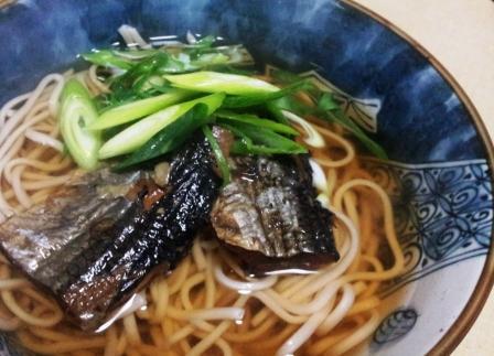 にしん蕎麦(B)
