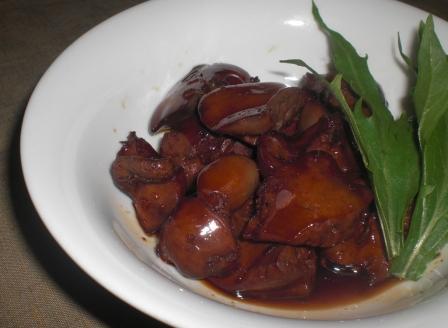 鶏レバー 柚子胡椒(B)