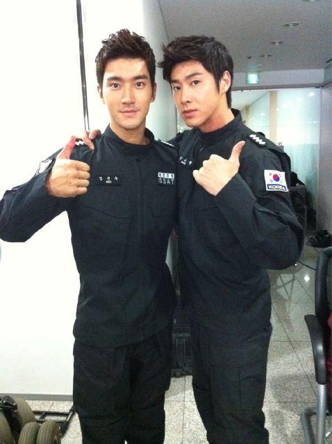 ポセイドンのシウォンさんとユノ