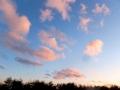 飛ぶ千切れ雲