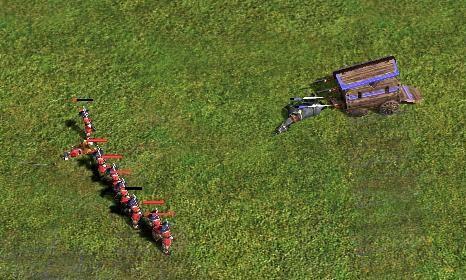 マスケ15 戦闘馬車5結果
