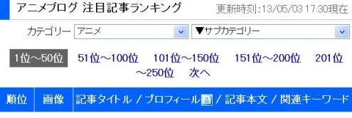 13・05・03順位タイトル