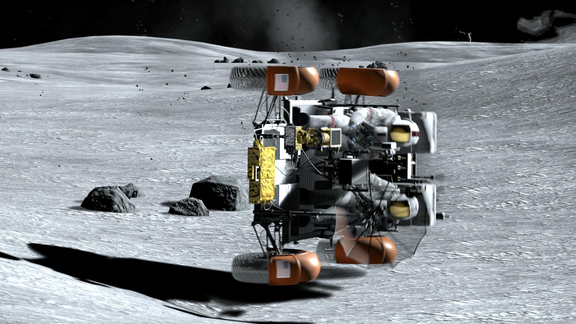 月面・ミッション Ⅰ