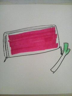 森川さんのお財布(イメージ/笑)