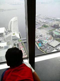 地上70階からの景色