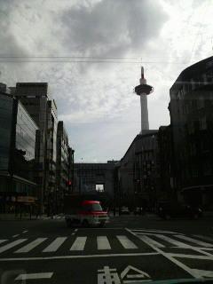 京都駅へ向かう