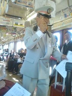 上田電鉄車内風景 1