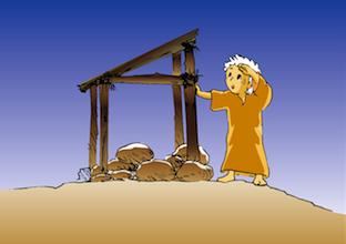 ヨナ4章小屋作り