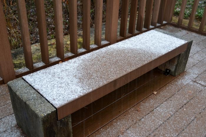 公園の雪-3