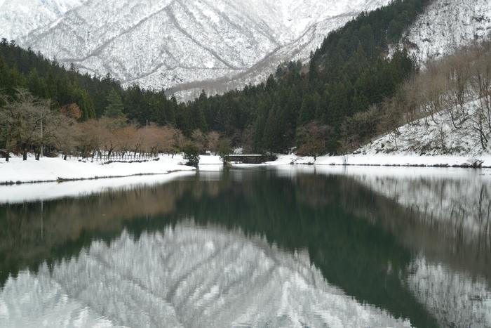 雪の水源地-2