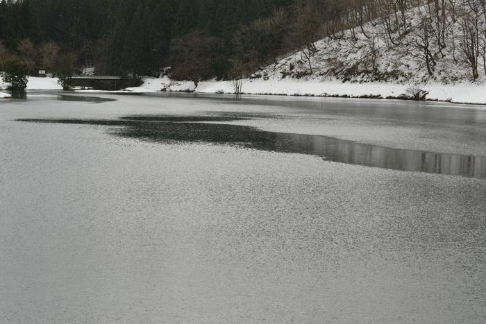 雪の水源地-3