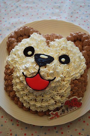 ダッフィーケーキ④