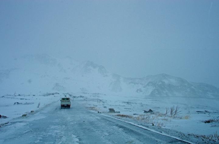 雪と氷の涅槃坂