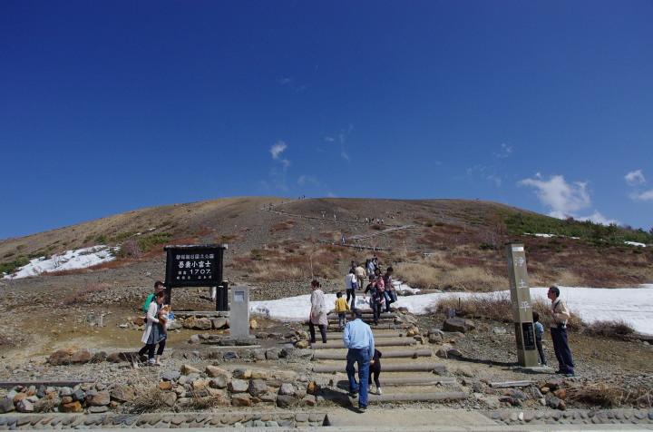 小富士登山口