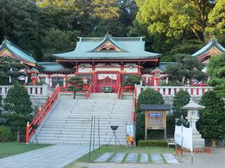 【足裏足もみ士たけ 神社 織姫神社 11-9-18-3】