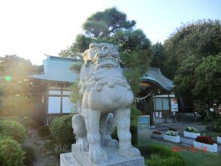 【足裏足もみ士たけ 神社 織姫神社 11-9-18-2】