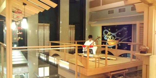 【台北】北投温泉 加賀屋旅館の中 日本と一緒で豪華!