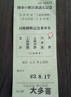 いすみ鉄道・小湊鉄道