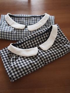 リネン襟のクレリック