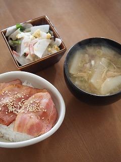 お昼ご飯~。