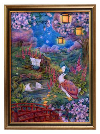 桜まつり-額入