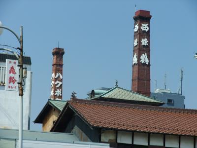 西条鶴煙突