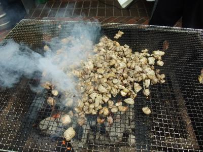 宮崎地鶏の屋台