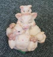 子だくさん豚
