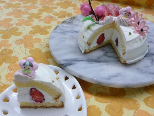 ひなまつりケーキ③