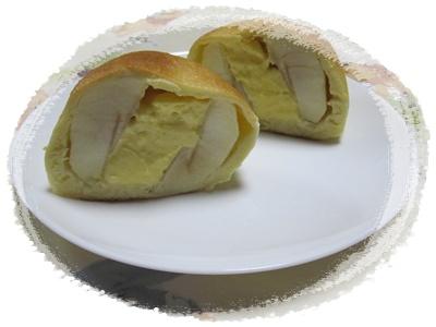 リンゴのパンカット